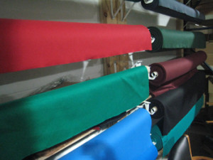 Logan pool table recovering table cloth colors