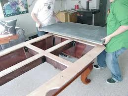 Pool table moves in Logan Utah